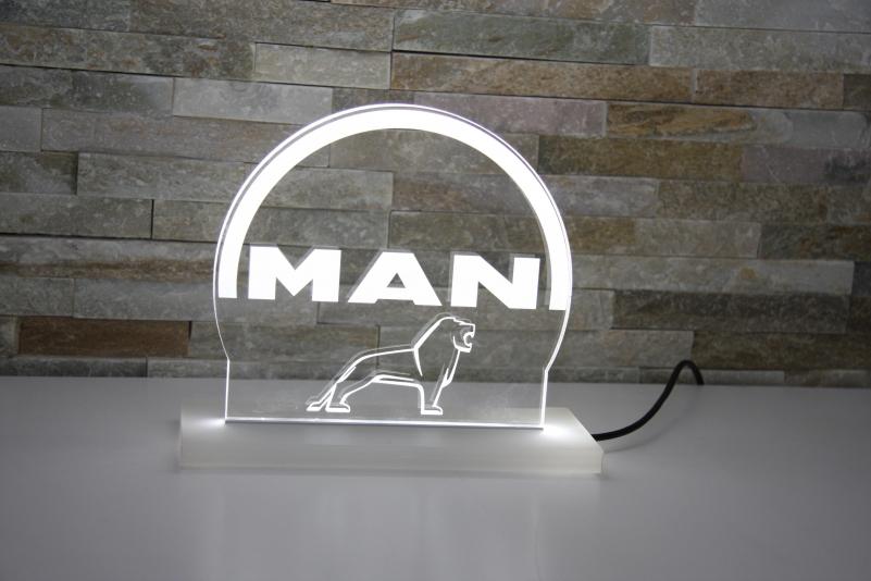 LED Aufsteller MAN