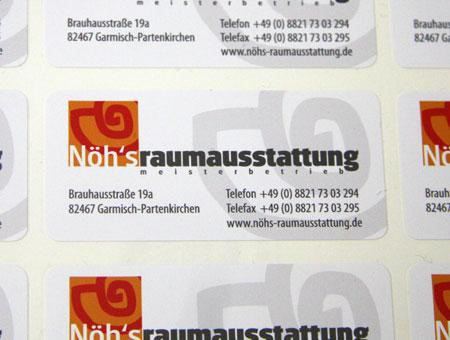 Beispiel Etiketten