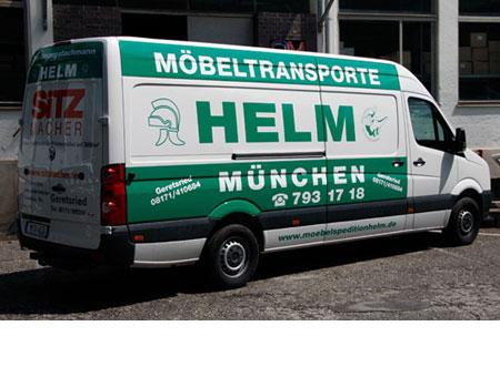 Beschriftung-Transporter