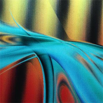 Lentikulardruck abstraktes Muster