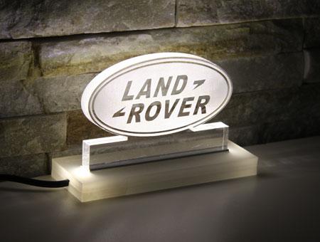 LED-Tischaufsteller Land Rover