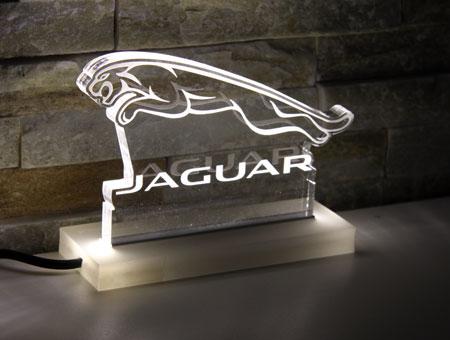 LED-Tischaufsteller Jaguar