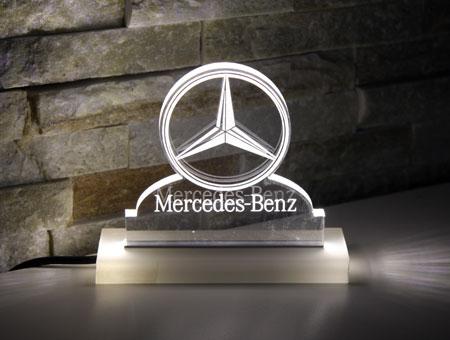 LED-Tischaufsteller Mercedes