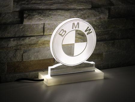 LED-Tischaufsteller BMW