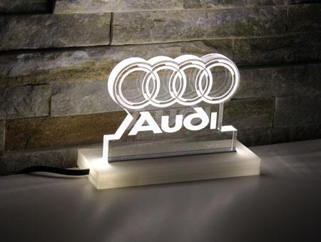 LED-Tischaufsteller Audi