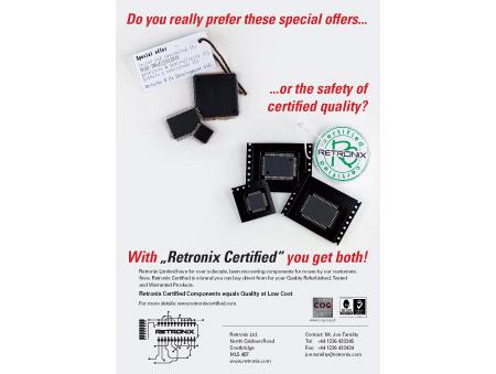 Anzeige Retronix Certified