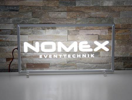 LED-Leuchtschild Nomex