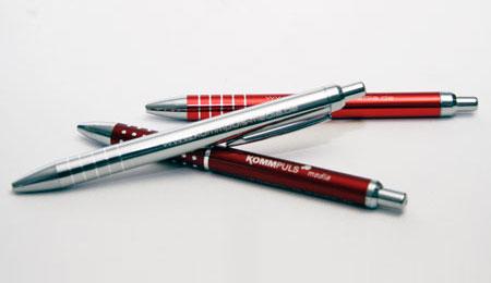 Muster Kugelschreiber