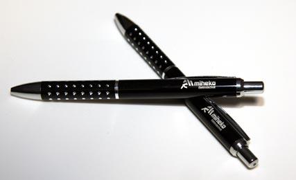 Kugelschreiber Paris schwarz