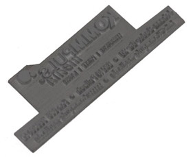 Stempelplatte